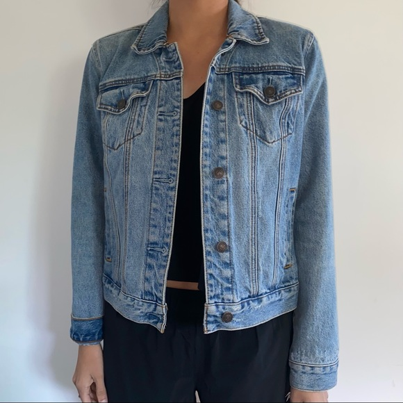 Abercrombie & Fitch Denim Jacket - Medium Wash
